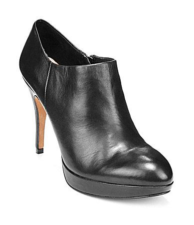 """Vince Camuto Elvin Leather Booties - Who cares if these make me 6'1""""...love them!"""