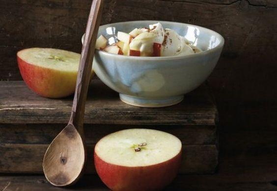 Apfelrezepte: Apfel-Zimt-Joghurt
