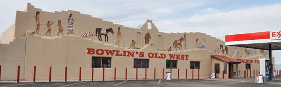 Just west of Las Cruces, NM — one of those wonderful trading post souvenir places.
