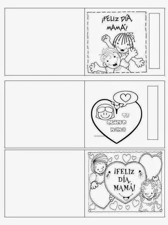 30 Tarjetas Para El Día De La Madre Bebeazul Top Cards Mothers Day Crafts