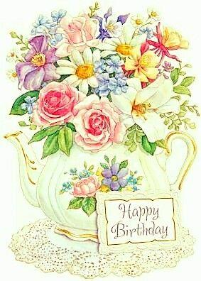 Epingle Par Sandrine Les Creas Sur Happy Birthday Joyeux