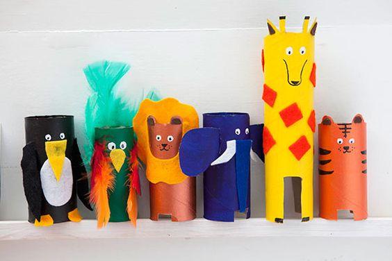 Vaak 23x Knutselen met wc-rollen en tips om te versieren - Mamaliefde.nl @SE57