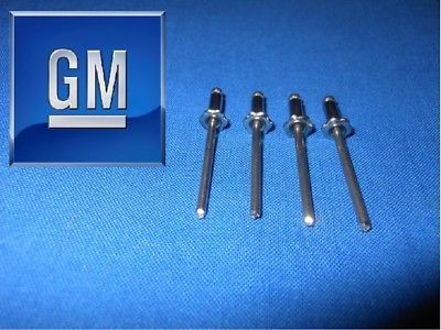 GM ROSETTE RIVETS CHEVY TRUCK or CAR 1500 C10 1968  1969 1970 1971 NOS ? 4 PC