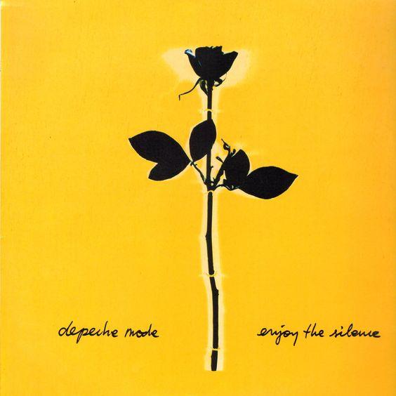 DepecheMode–EnjoytheSilence (single cover art)