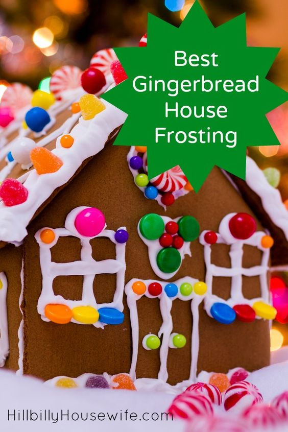Best Gingerbread House Frosting | Hillbilly Housewife
