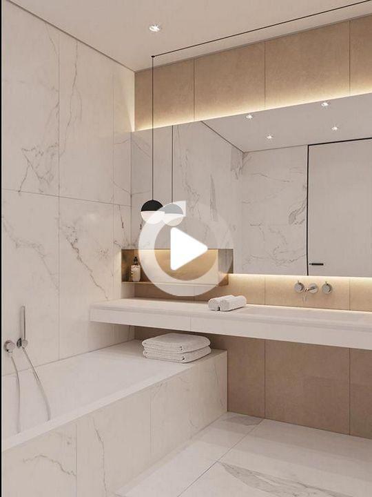 Pin On Bathroom Ideas Badezimmer Dekor Modern Badezimmer Wand