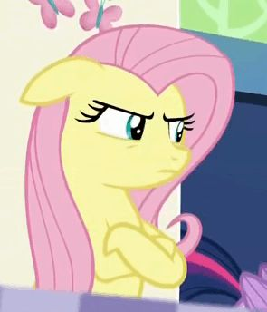 Not amused Fluttershy gift