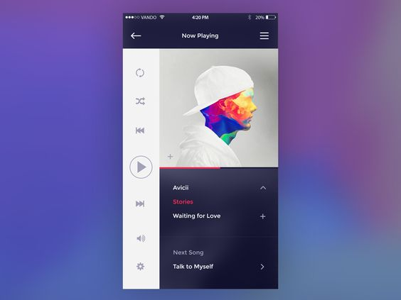 009 Music Player UI