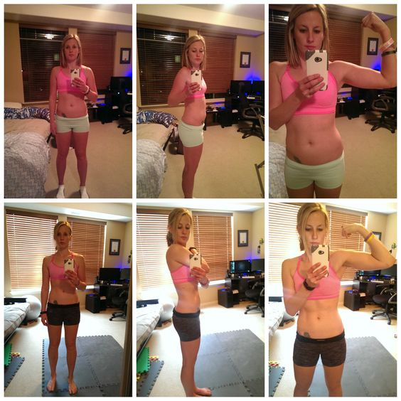 Insanity Workout Before and After ...how to get toned thighs