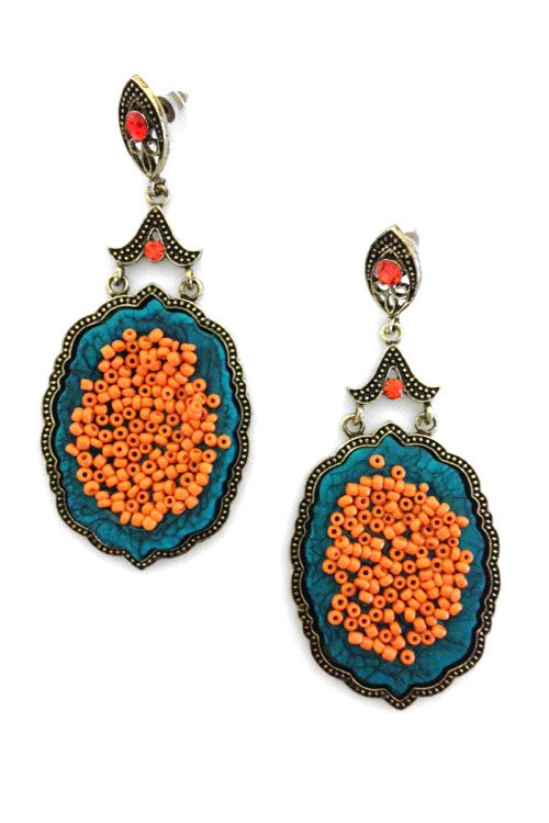 Delphine Statement Earrings