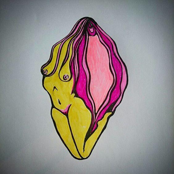 Vulva art by lena öberg
