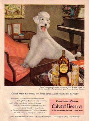 Calvert Whiskey by Jean Arf, via Flickr