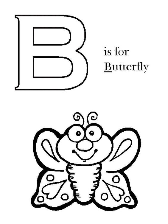 pre k letter coloring pages - photo#40