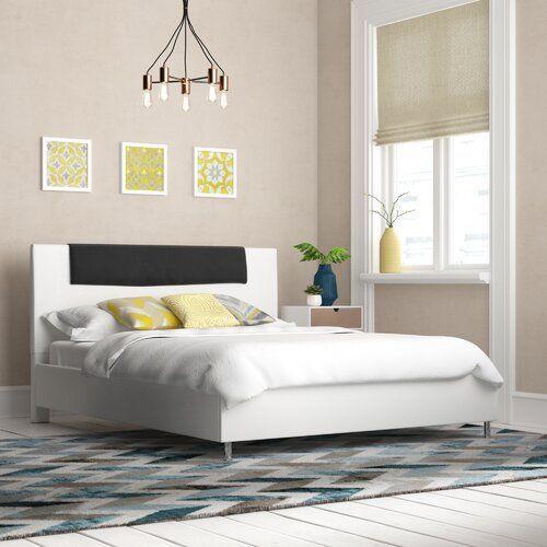 Polsterbett Transient Perspections Farbe Schwarz Weiss Format 200 X 200 In 2020 White Furniture Bedroom Modern Bedroom Interior Design Modern Interior Design Bedroom