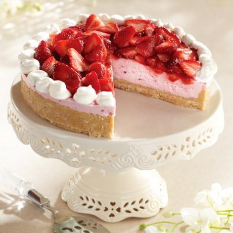 Strawberry Cream Cheese Mousse Tart | Recipe | Strawberries Cream ...