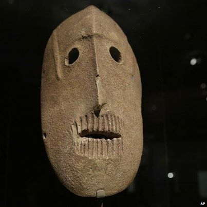 Beautiful 9,000 year old pre-pottery neolithic stone masks are to go on display at the Israel Museum in Jerusalem: http://ow.ly/uuZkv