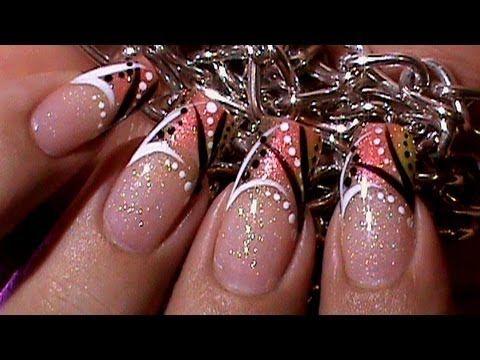 Autumn Abstract Nails