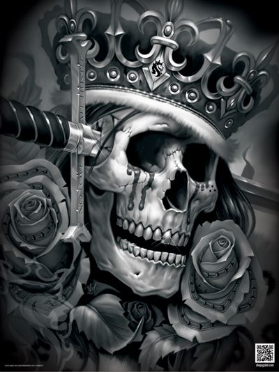 Suicide king poster coloring illusions and tattoo ideas for Suicide kings tattoo