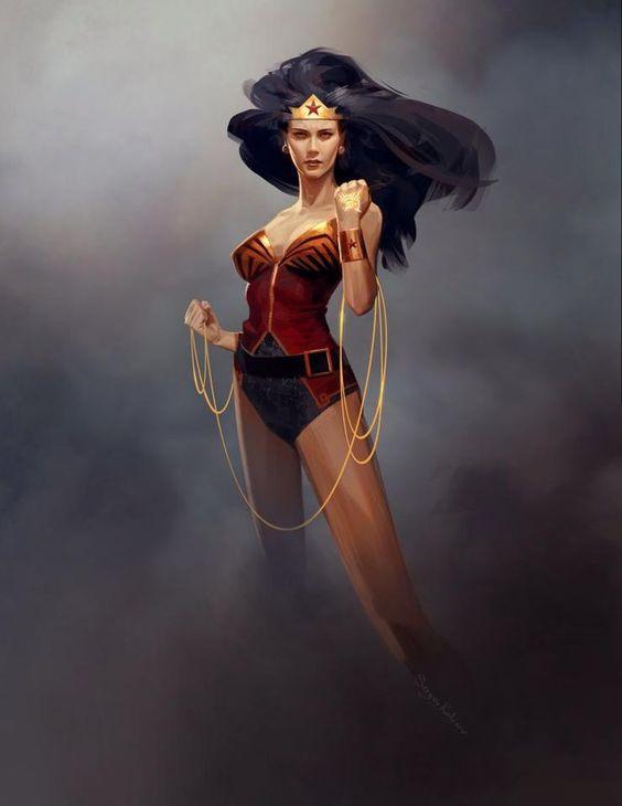 Wonder Woman by Sergey Kolesov