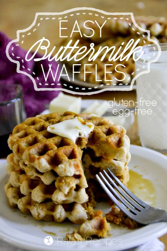 Buttermilk waffles, Waffles and Waffle ingredients on Pinterest