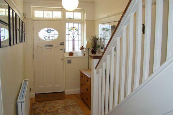 1930s door style hallway house ideas pinterest for Bathroom ideas 1930s semi