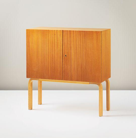 Alvar aalto 39 cocktail 39 cabinet model no 810 circa 1936 for Alvar aalto chaise longue