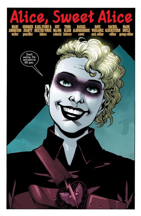 Batwoman arch-nemesis Alice