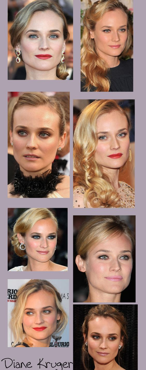 diane kruger - i always love her makeup