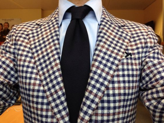 NK fashion sport coat in a Caccioppoli fabric (originally by Loro ...