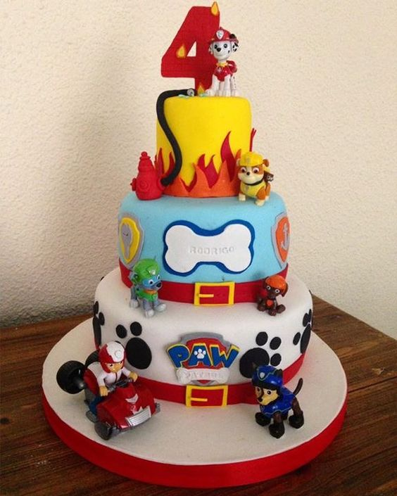 Paw Patrol Birthday Cake Glasgow