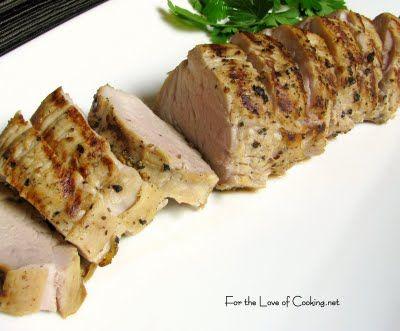 Pork Tenderloin in an Apple Maple brine