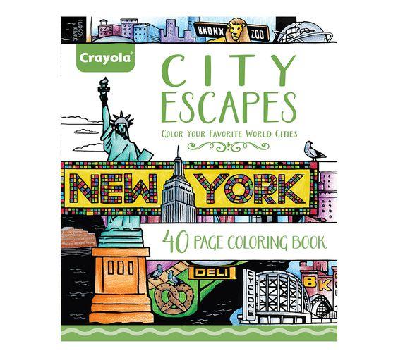 City Escapes Coloring Pages 40 Premium Coloring Pages Art Tools
