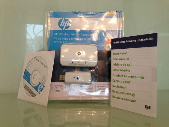 HP Wireless Printing Upgrade Kit Druckserver Set 802.11g USB zu WLAN Drucker
