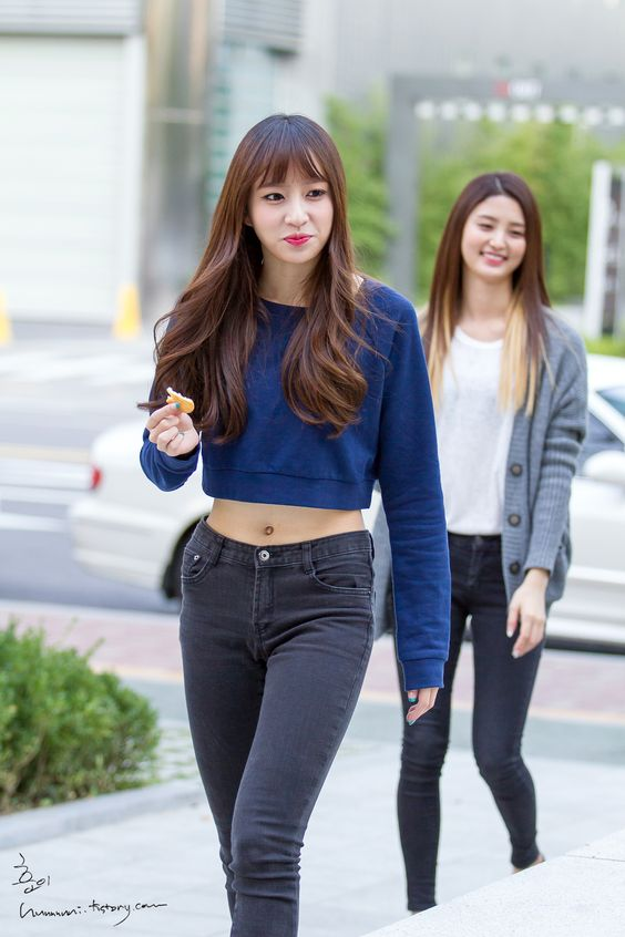 EXID HaNi | hani | Pin... Seohyun Airport Fashion 2014