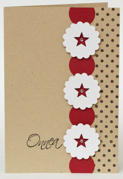 Card ideal for using scraps