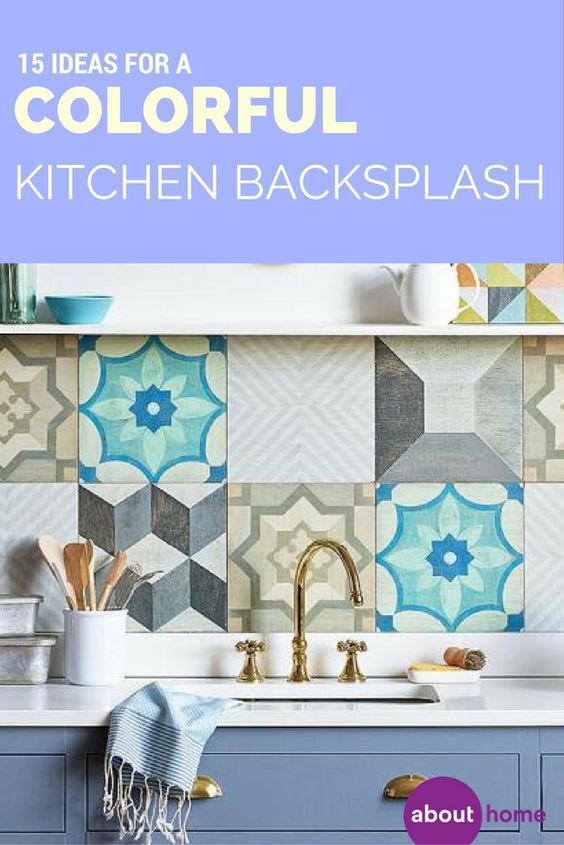 Take your kitchen to the next level with these colorful and unique kitchen backsplash ideas.