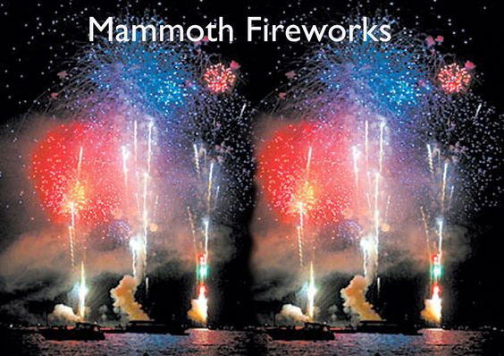 July 4 Mammoth Lakes, California Fireworks