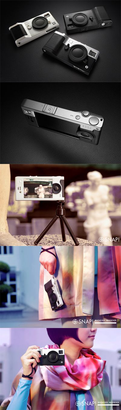 SNAP! iPhone case. My iPhone = My Camera