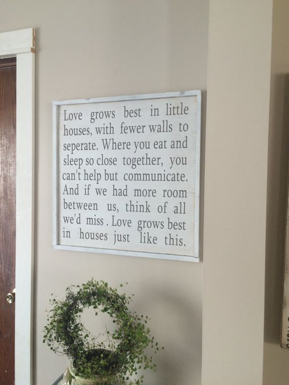 Marvelous Love Grows Best Framed Wood Sign Wood Art Wood Art Art And Largest Home Design Picture Inspirations Pitcheantrous