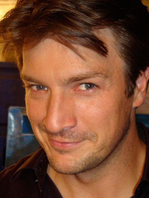 Nathan Fillion. He's so ruggedly handsome!