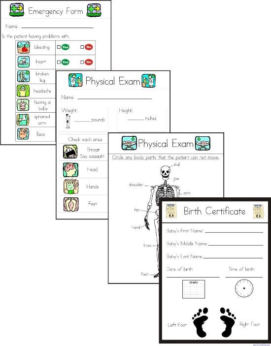 $5 printable rebus doctor forms (note to self Iu0027ve downloaded - free printable doctor forms