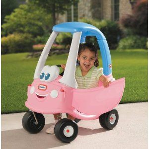 Little Tikes Princess  Cozy Coupe - 30th Anniversary. Finally found a pink one.