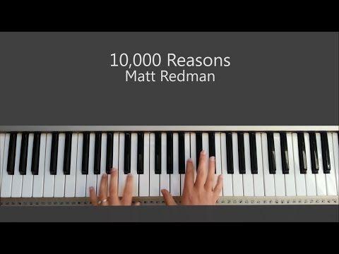 10 000 Reasons Bless The Lord Oh My Soul Matt Redman Piano