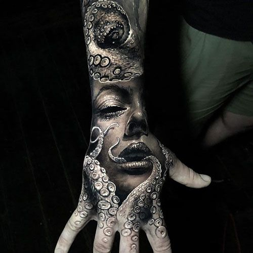 125 Best Hand Tattoos For Men Cool Designs Ideas 2019 Guide Hand Tattoos For Guys Tattoos For Guys Badass Hand Tattoos