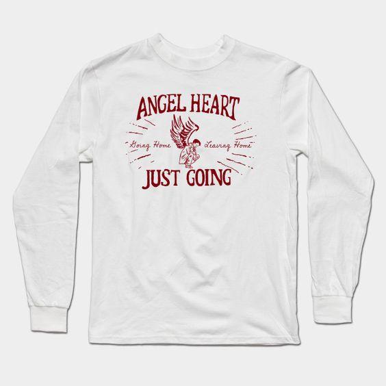 Angel Heart (with Cas) Long Sleeve T-Shirt