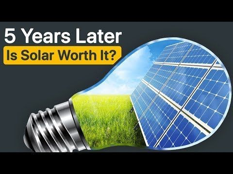 Is Solar Worth It 5 Years After Installing Solar Panels I Share What I Learned On My Journey Youtube Solar Panels Solar Energy Panels Solar