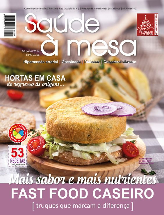 Saúde à Mesa nº 97 - Abril 2014   www.teleculinaria.pt