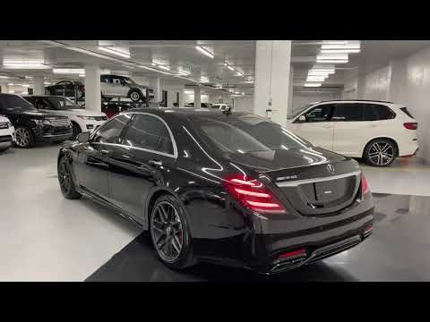 2020 Mercedes S63 Amg 4matic Revs Walkaround 4k Mercedes Amg
