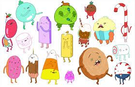 adventure time candy people - Google Search