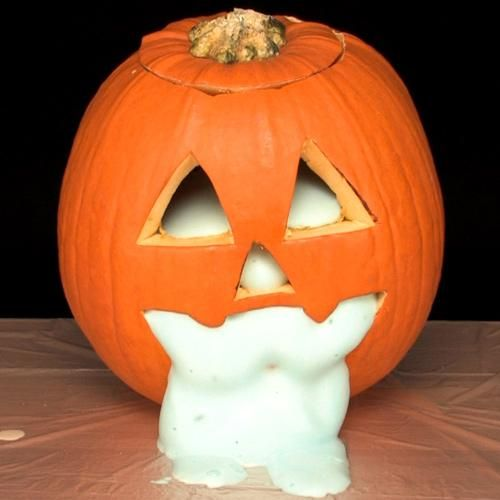 Elephant toothpaste experiment soaps and halloween on for How to carve an elephant on a pumpkin